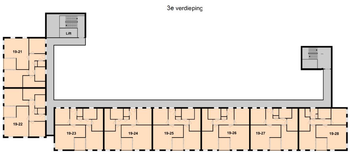 3e verdieping Zuiderspoorstraat 19